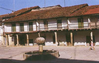 Plaza Mayor Cuacos de Yuste